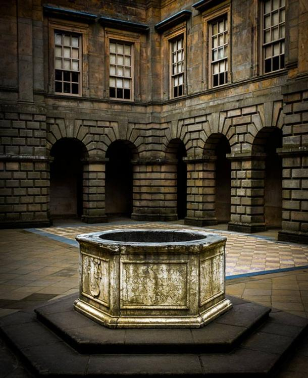 Lyme Park Wishing Well. Cheshire, England.