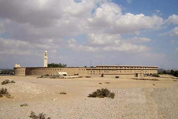 The St. Macarius Monastery.
