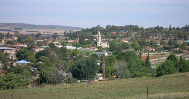 View of the town of Machadodorp, Mpumalanga Province
