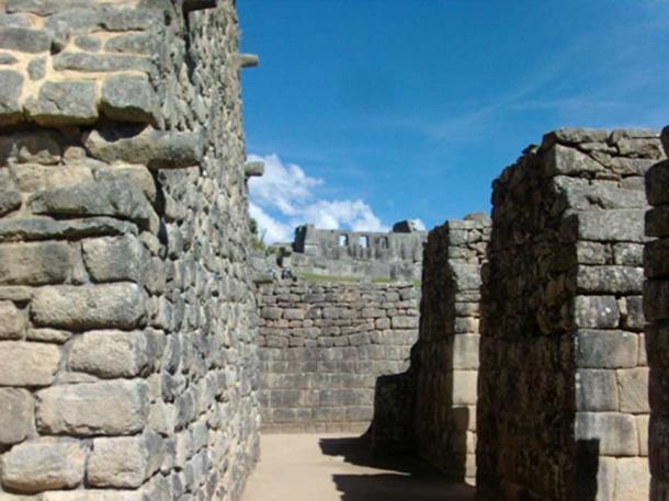 Machu Picchu stonework. (Credit: Alicia McDermott)