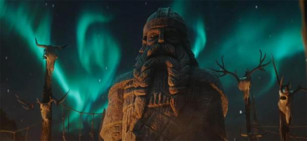 "Maclean noted ""Graven warrior idols"" in the trailer for Assassin's Creed Valhalla. (Ubisoft)"