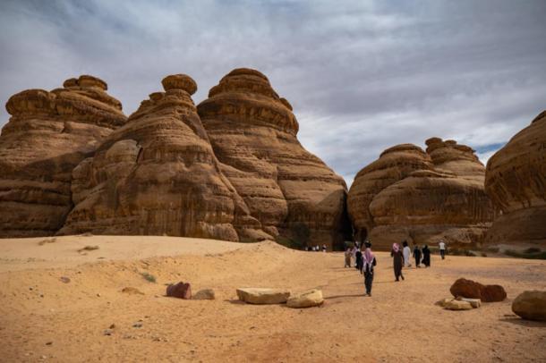 Mada'in Saleh archaeological site, Saudi Arabia (mstarling/ Adobe Stock)