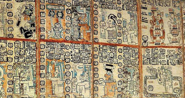 Facsimile of the Madrid Codex, Museum of the Americas, Madrid, Spain.