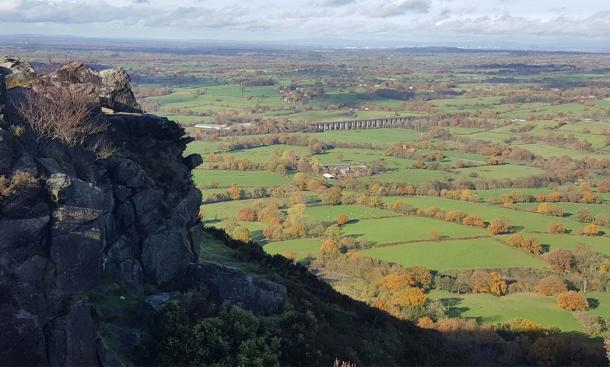 Magnificent view of the countryside from Bosley Cloud (Photo by Parkins M, Ancient Origins staff writer)