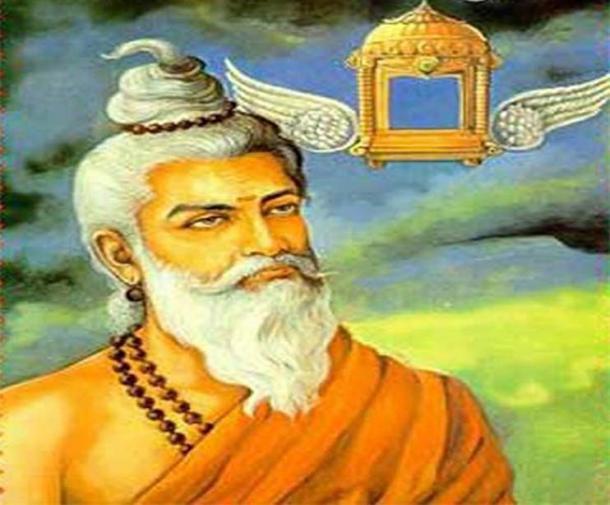 Maharshi Bhardwaj. (Vinay691/CC BY SA 4.0)
