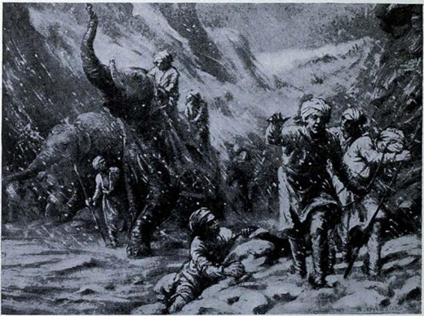 Mahmud of Ghazni first success from Hutchinson's story of the nations