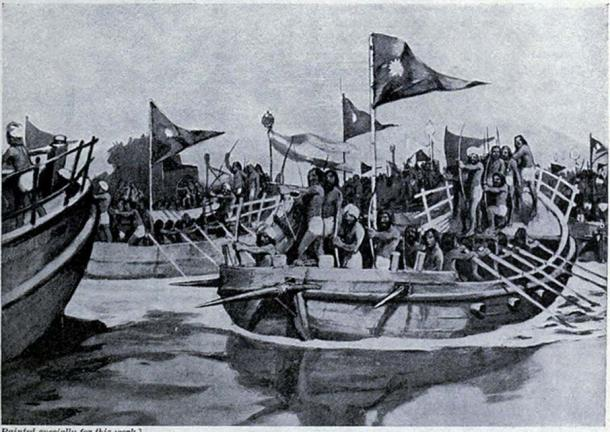 Mahmud of Ghazni's last success from Hutchinson's story of the nations