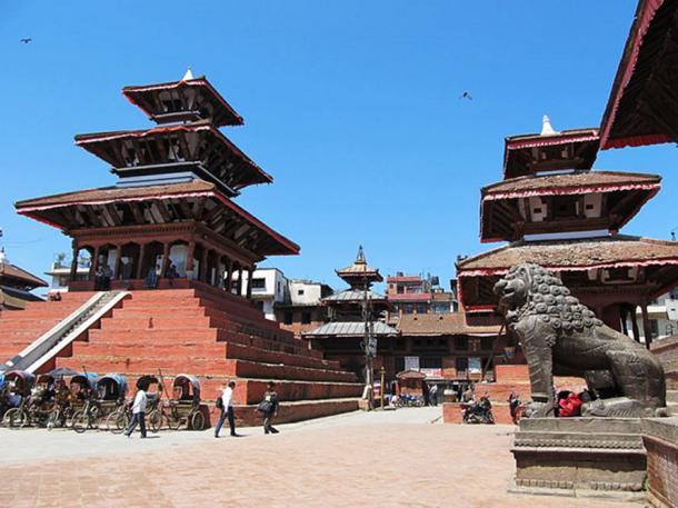 Maju Deval and Narayan Pagodas.