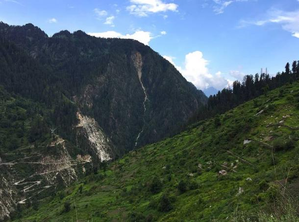 Malana is a village where some of Alexander's men stayed after the Battle of Hydaspes