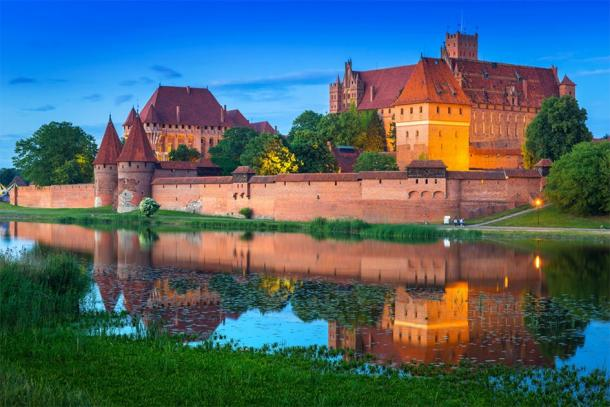 Malbork Castle, Poland, which was built by the Teutonic Order. (Patryk Kosmider / Adobe stock)