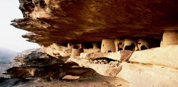Malian Cliff Dwellings from Tellem