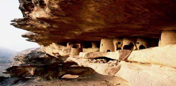 Malian Cliff Dwellings from Tellem