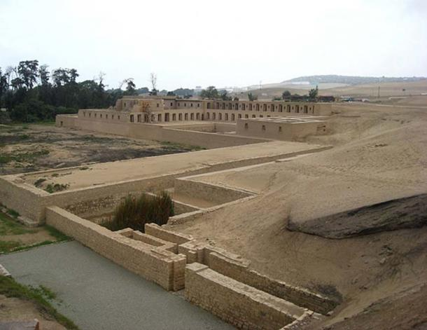 Mamacona, House of the Sun Virgins, from the Pachacamac ruins in Peru. (CC BY-SA 3.0)