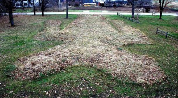 The Man Mound, 2010, Greenfield, Sauk County, Wisconsin, USA