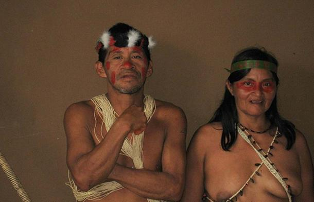 Man and woman from Huaorani village. Photographed in Ecuador, May 2008. (kate fisher/CC BY 2.0)