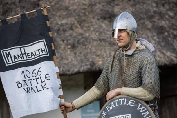 Lewis Kirkbride's 1066 Battle Walk is raising funds for men's mental health. (Credit: Lewis Kirkbride / 1066 Battle Walk)