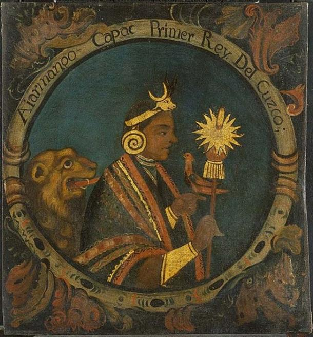 Manco Capac, First Inca, Brooklyn Museum. (Public Domain)