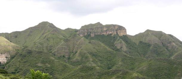 Mandango, the Sleeping Inca