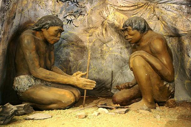 Many thousands of years ago, even before Homo sapiens evolved, humanoid people were using fire, according to Chinese scientists. (Public Domain)