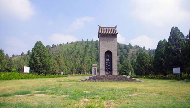 Maoling, the tomb of Emperor Wu of Han