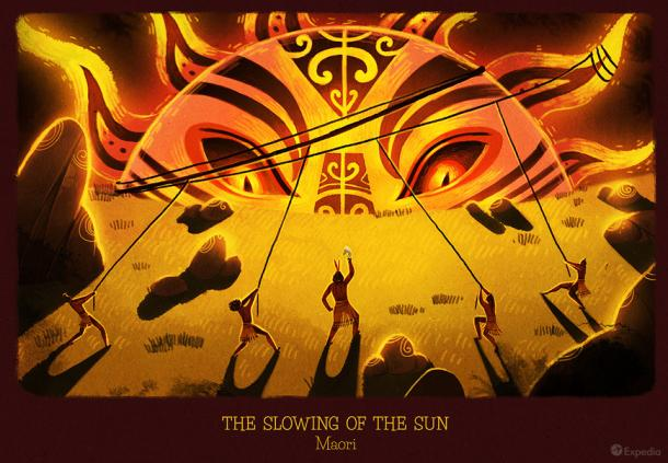 Maori - The Slowing of the sun