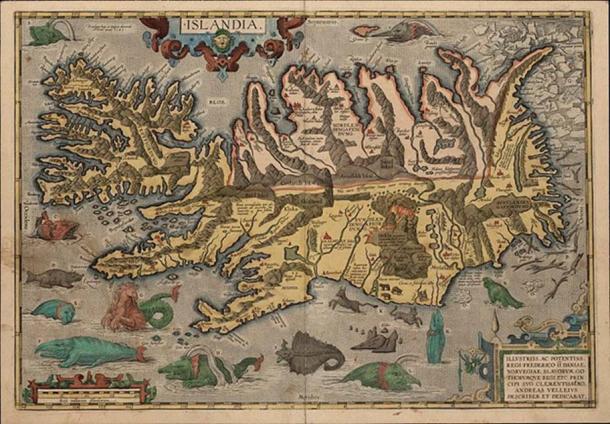 Map by Abraham Ortelius Flemmish Cartographer