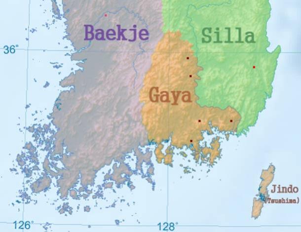 Map of Gaya