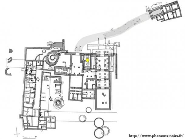 Map of the site of Dukki Gel (Dogi Gel).