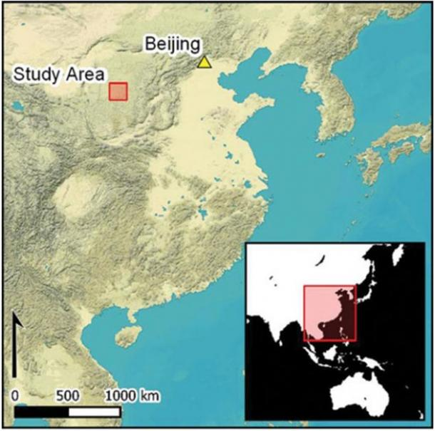 Map of the study area in relation to Beijing, China. (Antiquity Publications Ltd)