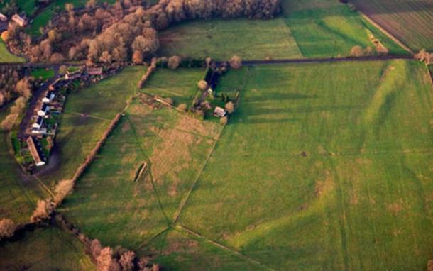 The site of Marden Henge in Wiltshire