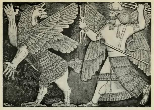 Babylonian God Apsu