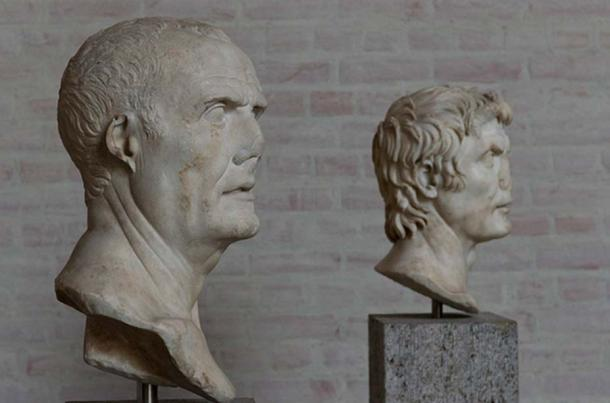 The so-called 'Marius' and 'Sulla' busts. (Egisto Sani/CC BY NC SA 2.0) The bust in the foreground depicts the consul - general Gaius Marius (157 - 86 BC); behind him, his contender Lucius Cornelius Sulla Felix (c. 138 – 78 BC).