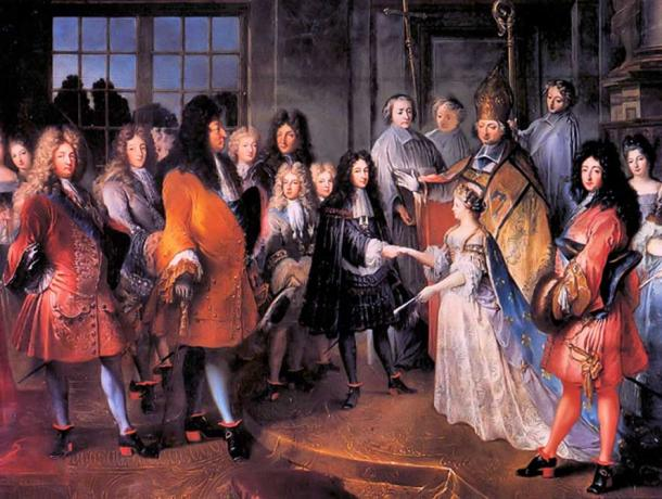 Marriage of Louis XIV of France and Maria Theresa of Spain. (Krishna / CC BY-SA 2.0)