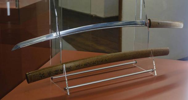 Masamune sword in the city of Steyr.