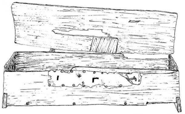 Mastermyr chest, part of the documentation of the Swedish Viking Age.
