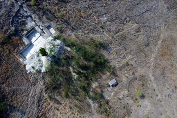 Aerial view of Mata Menge.