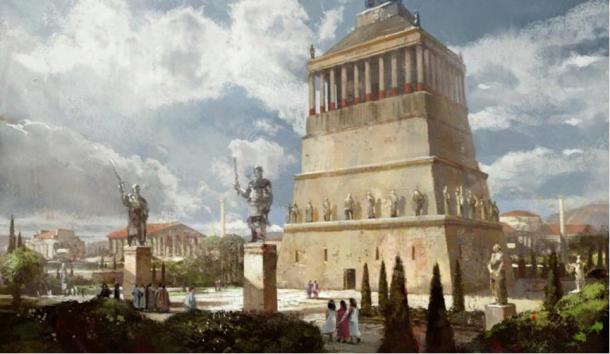 The Magnificent Mausoleum of Halicarnassus