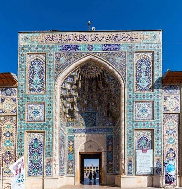 Mausoleum of Shah Cheragh, Shiraz, Iran.