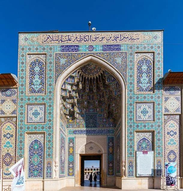 Mausoleum of Shah Cheragh, Shiraz, Iran.