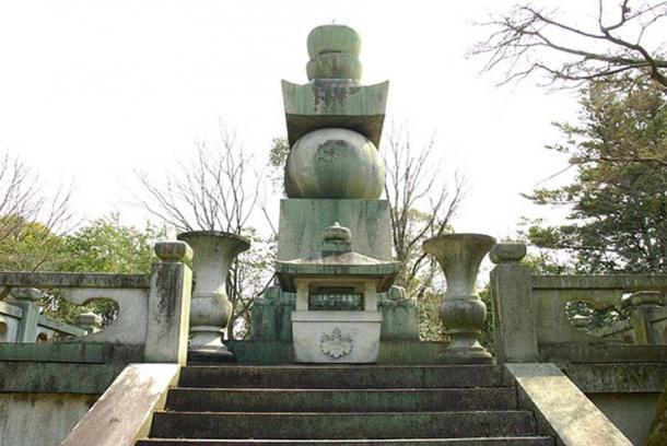 Houkokubyo (Mausoleum of Toyotomi Hideyoshi) Higashiyama-ku, Kyoto, Japan.
