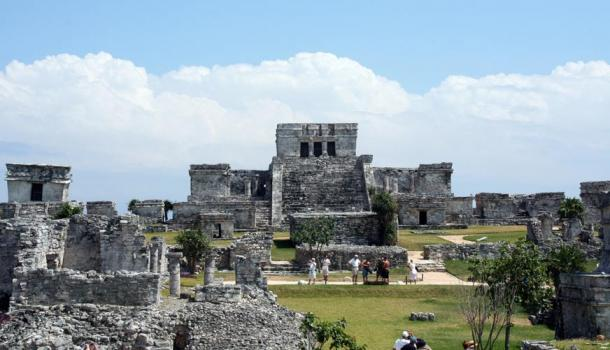 Maya City of Tulum, Mexico.