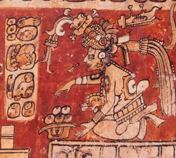 Maya god D, Itzamna