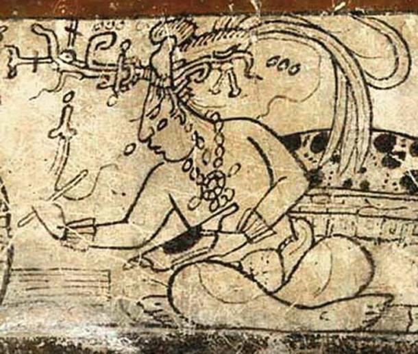 Maya god of corn. (Francis Robicsek  / Public Domain)