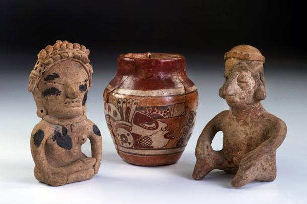 Mayan ceramics discovered in mound outside of Coban, Guatemala. Source: W.Scott McGill / Adobe.