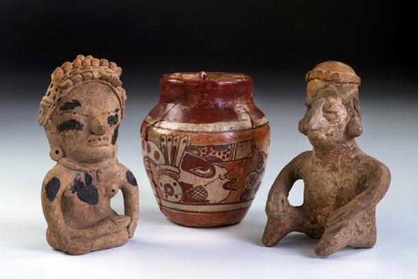 Mayan ceramics discovered in mound outside of Coban, Guatemala. Source: W.Scott McGill / Adobe.