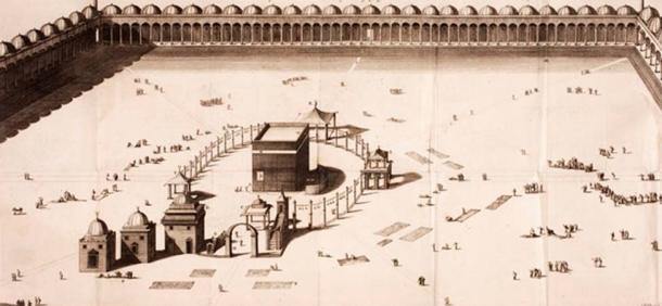 Mecca in 1718. (Public Domain) In 1496 Askia went on the hajj to Mecca.