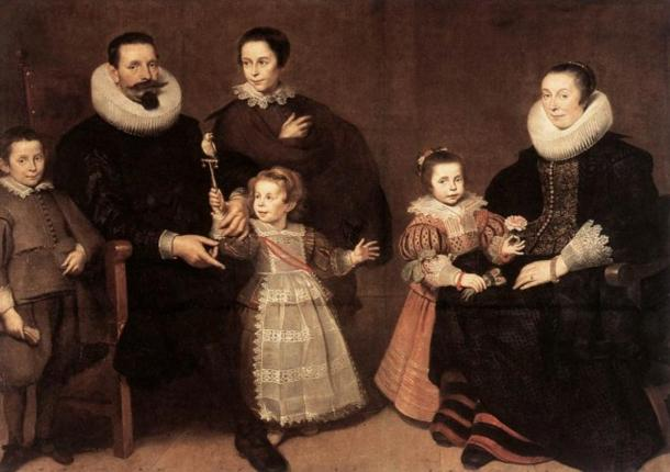 The famous and extremely powerful and influential Medici family of Italy, is believed to have raised and tutored Saint-Germaine