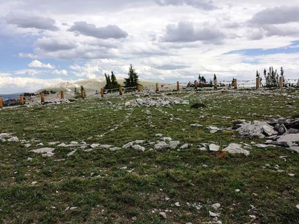 Medicine Wheel/Medicine Mountain National Historic Landmark Big Horn Mountains, Wyoming