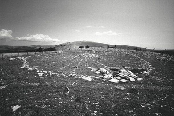 The Medicine Wheel in Bighorn National Forest, Wyoming, USA