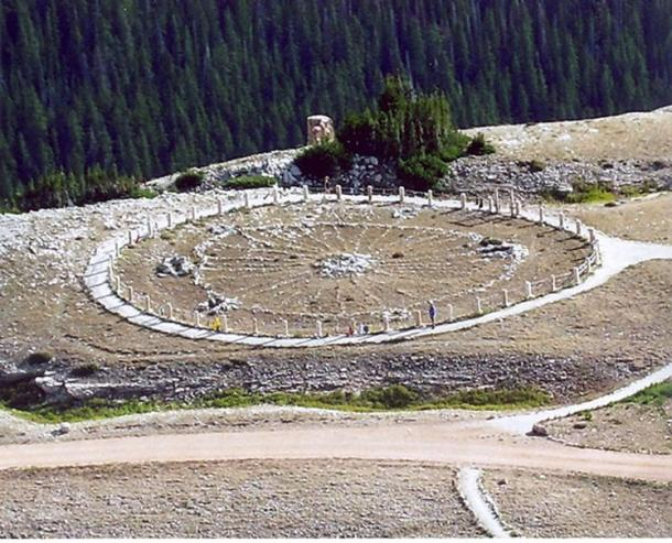 Medicine Wheel, a Native American sacred site and National Historic Landmark in Wyoming